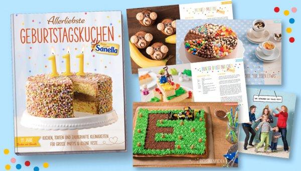 Backbuch – Sanella Treueaktion -> 6 Packungen = 1 Buch