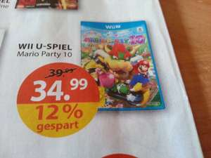 [Müller] Mario Party 10 ab Montag 34,99
