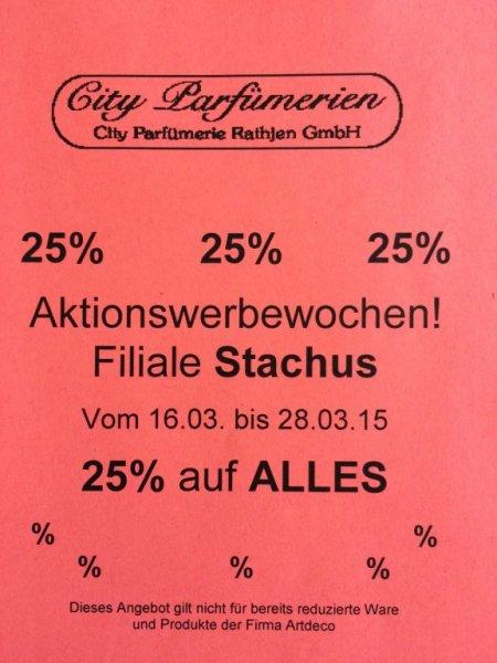 [Lokal/München] City Parfümerie Stachus -  25% auf (fast) alles