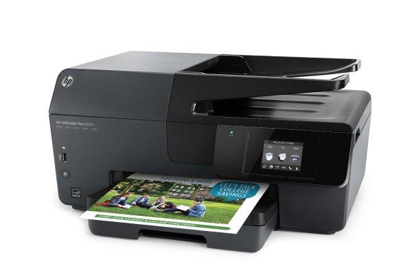 HP Officejet Pro 6830 e-All-in-One Drucker (Scanner, Kopierer, Drucker) für 108,05 € @Amazon.fr