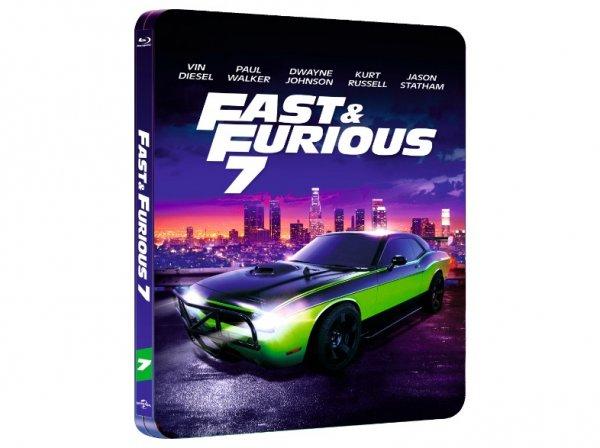 Fast & Furious 7 - Leere Steelbook Edition - MediaMarkt