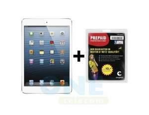 iPad Mini Wi-Fi+Cellular 16GB inkl 10EURO congstar 249Euro
