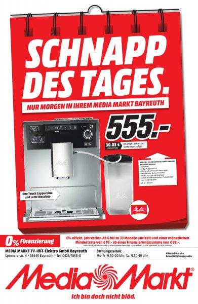 [lokal Bayreuth - nur 23.03.] MELITTA E 970-101 Caffeo CI silber Kaffeevollautomat für 555€