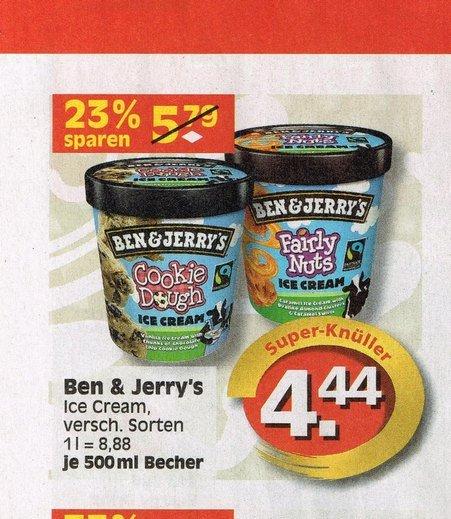 Ben & Jerry's 500ml für 4,44€ bei EDEKA Minden / Reichelt ab dem 23.3.15