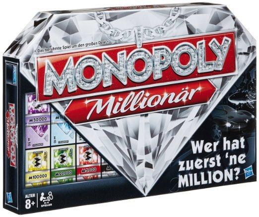 [Amazon] Monopoly Millionär für 19,42 EUR für Prime-Kunden