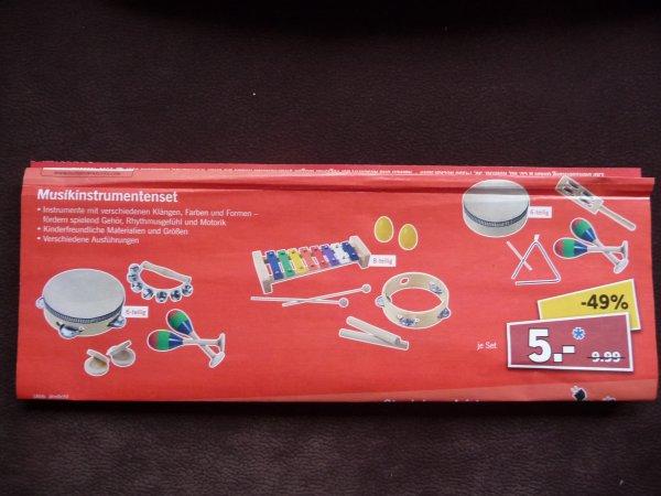 (Lokal Lidl in Hanau / Lamboy) div. Musikinstrumenten-Sets (5-6 teilig) für Kinder für 5€