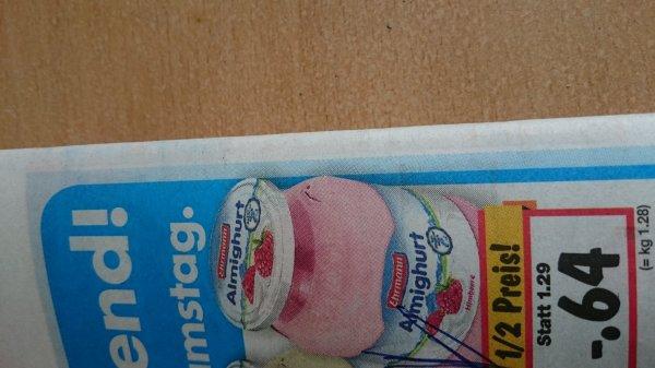 [Kaufland Hamm Westf.]Ehrmann Almighurt Joghurt Glas 0,64€