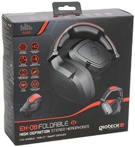 [Saturn] GIOTECK EX-06 Wired Foldable Headset - mit Versand 7,99 EUR