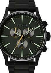 Nixon Sentry Chrono Armbanduhr matte black surplus 194,99€