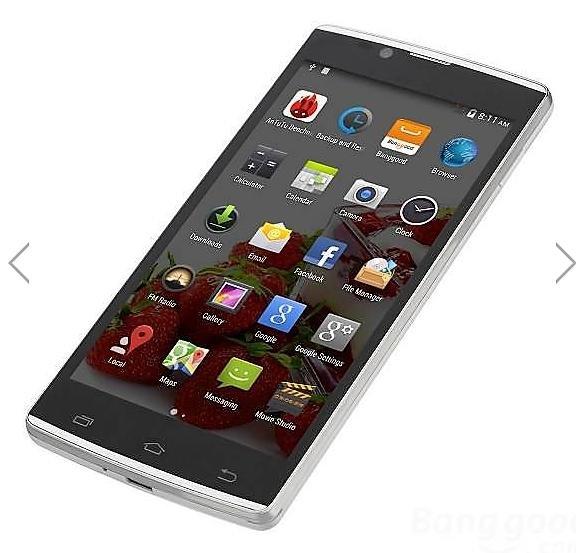 """Eachine M1 900/2100MHz 5"""" MTK6592 1.7GHz Octa-core Smartphone für 70,31€ @Banggood"""