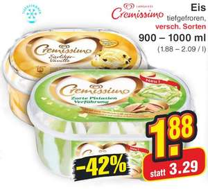[Netto MD] Langnese Cremissimo Eis ab 23.03. für 1,88 Euro