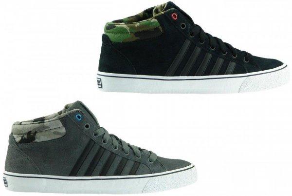 K-SWISS Adcourt LA Sneaker Hi Turnschuhe Echtleder in grau oder schwarz für jeweils 34,99€ frei Haus @Ebay