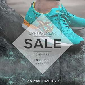 Spring Break Sale @ Animal Tracks