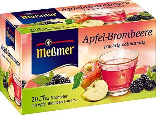 Wieder verfügbar: Amazon Prime: Meßmer Apfel-Brombeere 20 x 2.25 g, 10er Pack (10 x 45 g) Nur 10,88 €