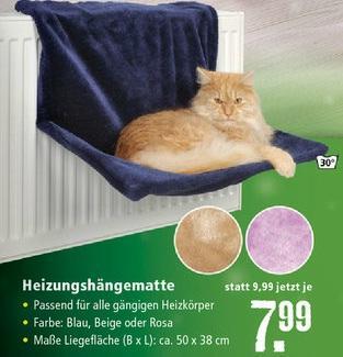 Trixie 43203 Liegemulde für Katzen ab 7,99 € [Offline @Fressnapf / Online @Zooplus]