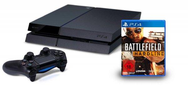 PlayStation 4 - Konsole inkl. Battlefield Hardline @Amazon Angebot des Tages