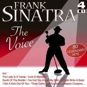 Blitzangebot - Amazon CD :  Frank Sinatra -  The Voice (Limited Edition) 4 Cds Nur 4,99 € statt 14,48 €