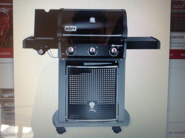 Weber E320 Classic Black bei Grill Fürst für 537 Euro inkl. Versand