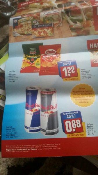 Red Bull 0.88€ Rewe Lokal?