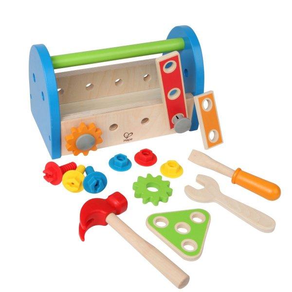 Hape E3001 – Kinder-Werkzeugkasten bei Amazon.de für 10,15€
