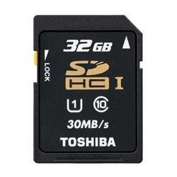 Toshiba SDHC 32GB UHS-1 Class 10 für 13,98€ @ Amazon (Market Place)