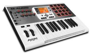 [Amazon Blitzdeal - prime] M-Audio Axiom Air 25 Premium Midi Keyboard und Pad Controller