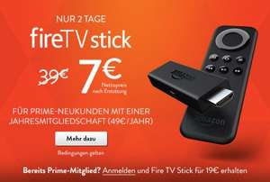 Fire TV Stick 19 € für Prime-Kunden @Amazon