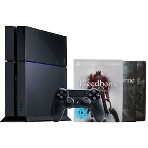 Sony PlayStation 4 / PS4 500GB + Bloodborne Collector´s Edition (Bundle) WOW