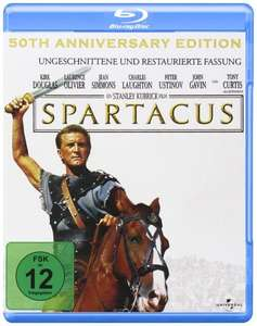 Spartacus (50th Anniversary Edition) [Blu-ray] für 6,99€ @Amazon.de (Prime)