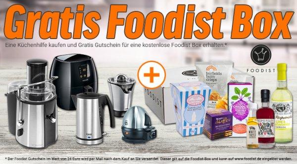 Clatronic MS 3098 Milchaufschäumer + Foodist Box für 9,73€ inkl. Versand @Notebooksbilliger