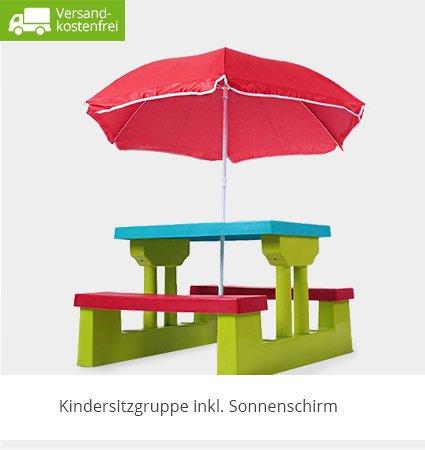 Kindersitzgruppe für den Garten - Versandkostenfrei
