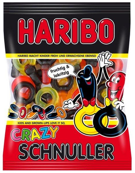[Amazon Marketplace] Haribo Crazy Schnuller, 30er Pack (30x 200 g Beutel) für 1,05€ + 4,90€ Versand