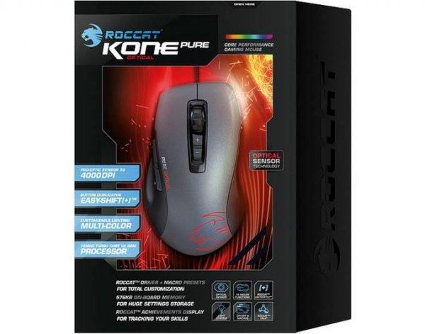 "Roccat™ - Gaming-Maus ""Kone Pure Optical"" (7 Tasten,4000dpi,USB,LED-Sensor) [B-Ware] ab €37,03 [@MeinPaket.de]"