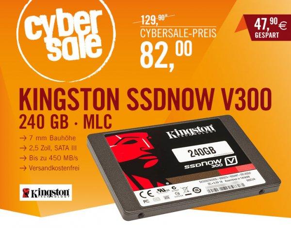 Kingston SSDNow V300 240 GB für 82 €