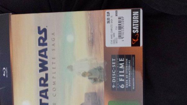 [LOKAL] Star Wars Complete Saga Blu Ray