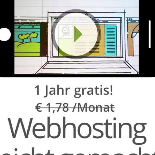 One.com 1 Jahr webhosting