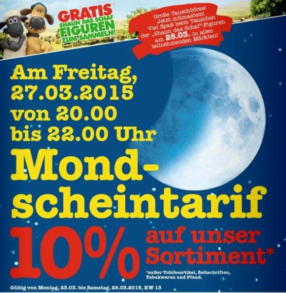 [Regional Mannheim] Marktkauf: Freitag 27 März 20 bis 22 Uhr: 10% Rabatt auf gesamtes Sortiment