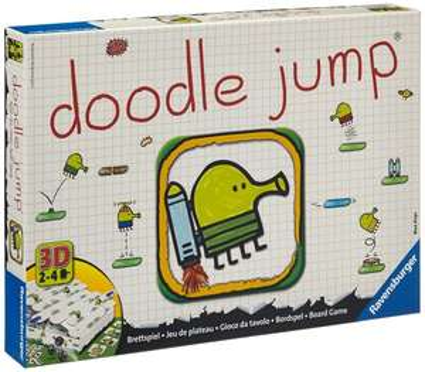 Ravensburger 26608 - Doodle Jump Brettspiel für 13,90€ (Amazon Prime)