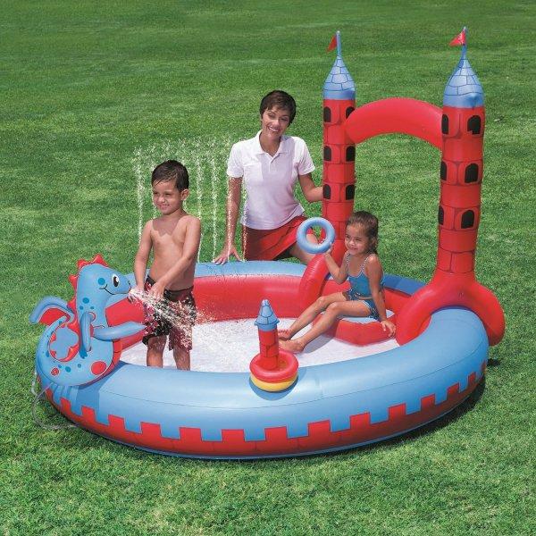 (Prime) Bestway Spielpool Schloss 221x193x150cm für 12,46€ bei Amazon