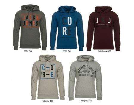 (Mein Paket) JACK & JONES Pullover Herren Hoodie Sweat Hood in 5 Varianten