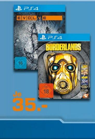 [LOKAL MG Minto]Borderlands: The Handsome Collection (PS4),Evolve PS4 für 35€ @ Saturn
