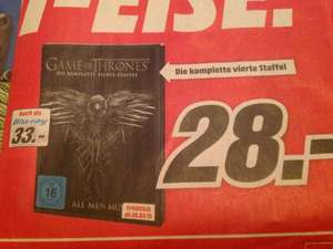 (MediaMarkt) Game of Thrones Staffel 4 Blu-Ray