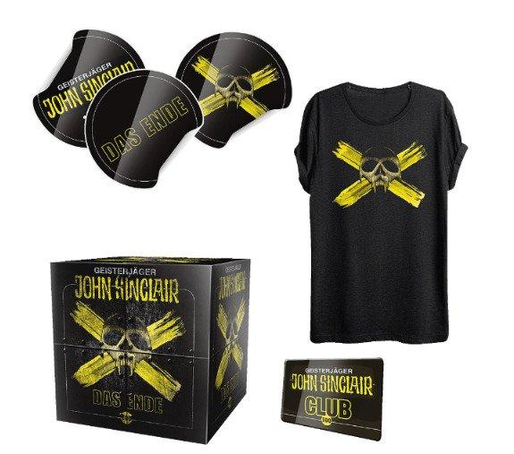 [Saturn] Alle John Sinclair Hörspiele nur 2,99€ je CD und die Folge 100 Limited Edition incl.T-Shirt Gutschein nur 12,99€!