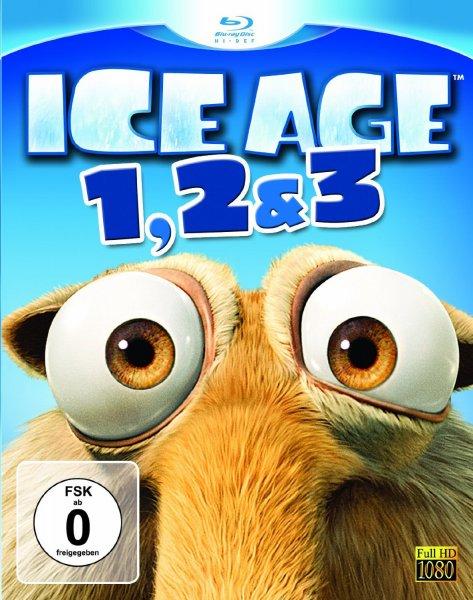 Ice Age 1, 2 & 3 [Blu-ray] @ Amazon Blitzangebote für 9,97 €