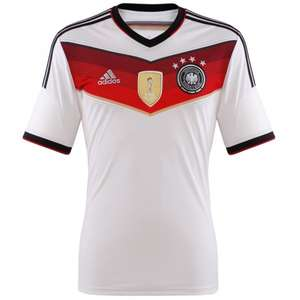 DFB Weltmeister Trikot Home 4-Sterne 2014 [S+XXXL]
