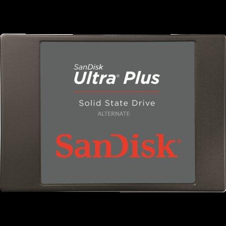 """SanDisk Ultra Plus SSD 2,5"""" 128 GB für 55,39€ inkl. Versand (+ Montagewinkel) bei zackzack.eu"""