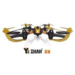 [Quadcopter] Yi Zhan X4 6 Axis 2.4G RC Quacopter With LCD Transmitter RTF für 25,90€ + Qipu