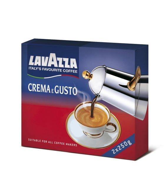 Lavazza Crema e Gusto 1 x 500 g Packung für 3,50EUR @ Amazon (Plus Produkt) - im Sparabo sogar nur 3,32EUR