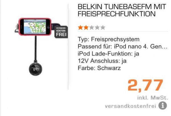 Belkin TunebaseFM (saturn.de) VSK Frei