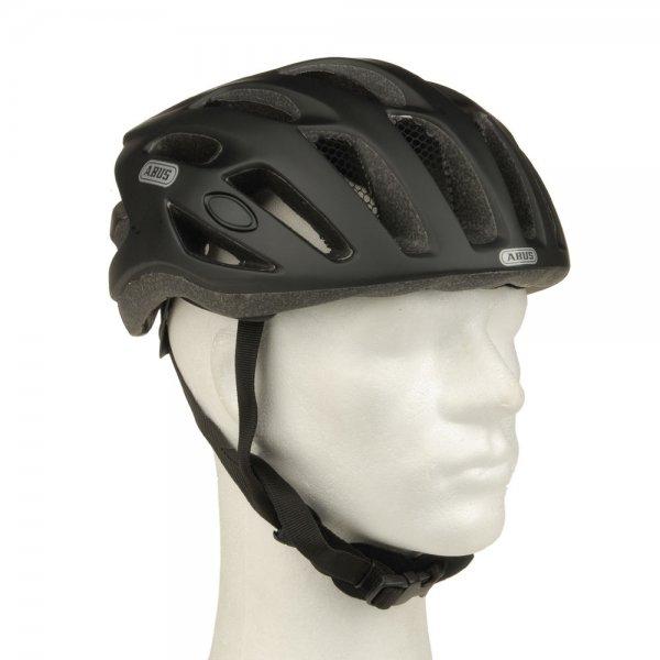 ABUS Fahrradhelm Strongster in schwarz matt für 17,99€ @eBay
